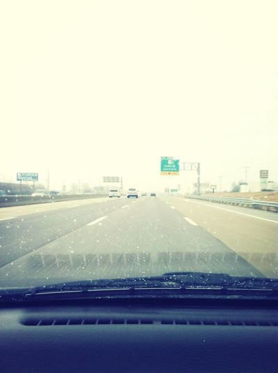Highway Wet :( On My Way! To The City