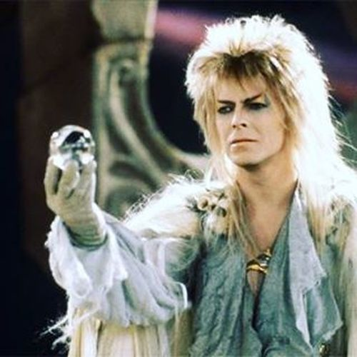 Long live the Goblin King Davidbowie Thegoblinking Labyrinth Sadday Foreveralegend Thepowerofvoodoo Bowie