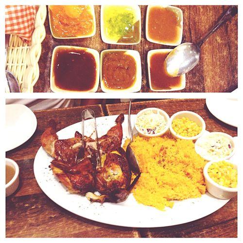 A taste of Portugese Food PeriPeriChicken