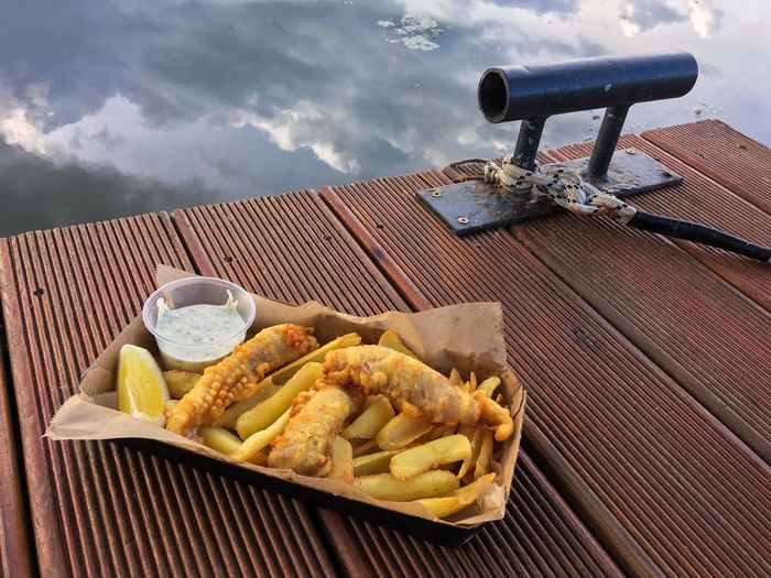 Streetfood Chill Fish Fishandchips Food Food And Drink Ready-to-eat Cloud - Sky Potato Freshness Fast Food French Fries Outdoors Sky Snack