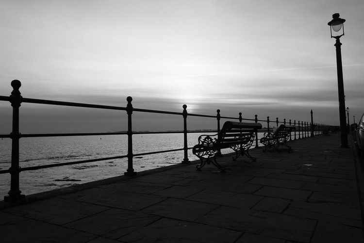 OUT AND ABOUT IN HARTLEPOOL Sky Water Street Railing Street Light Sea Beauty In Nature Footpath Nature Promenade Transportation Bench Outdoors Real People Scenics - Nature Cloud - Sky Bicycle Tranquility Architecture Paving Stone