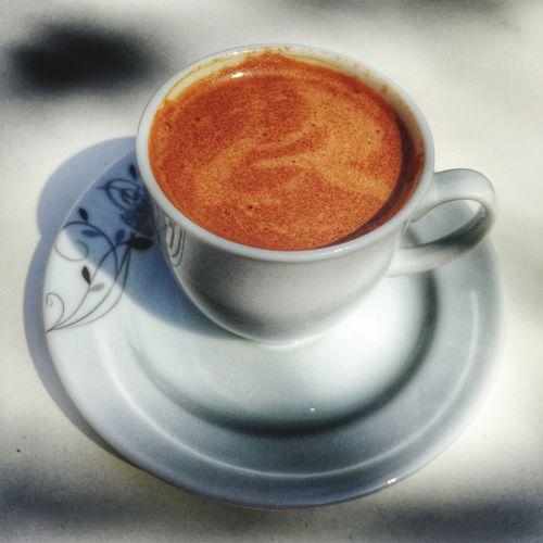 Nihayet güneş+kahve... Türk Kahvesi Turkish Coffee