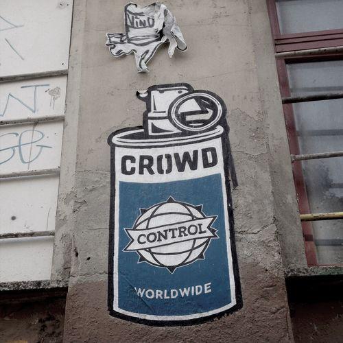 Crowdcontrol Unterwegs