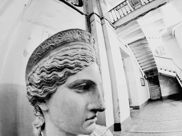 Hello World Almamater Russia россия Saint Petersburg Art Sculpture Black&white Academyofart