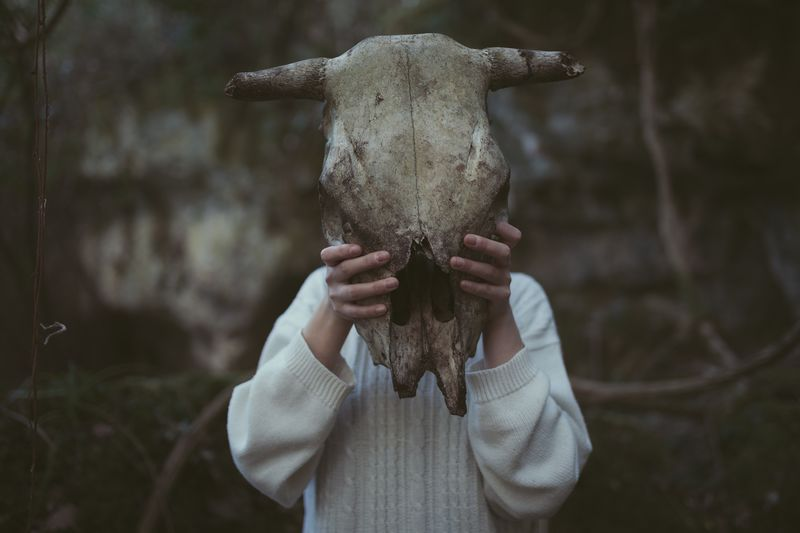 We can cross the forest but we can't survive from society. Celeste. Nature Skull Exploring Canon Power In Nature EyeEmNewHere EyeEm Best Shots EyeEm Gallery Nature Earth Portrait Of A Woman Beauty In Nature Sardegna Portrait Dark EyeEmNewHere The Week On EyeEm The Portraitist - 2017 EyeEm Awards Rethink Things