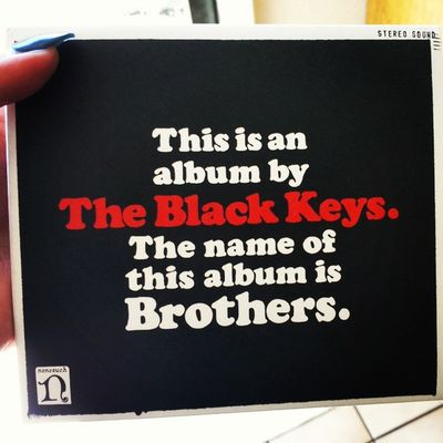 Finally after years of procrastination, IT'S MINE. Theblackkeys Brothers