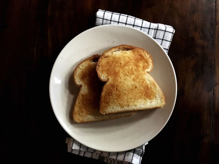 Kaya Toast from home! Taste Of Culture Taste Of Life Breads Breakfast ♥ Srikaya Kayatoast Plate Food And Drink Still Life Table Food Freshness Indoors  No People Ready-to-eat Serving Size Close-up Healthy Eating Indulgence