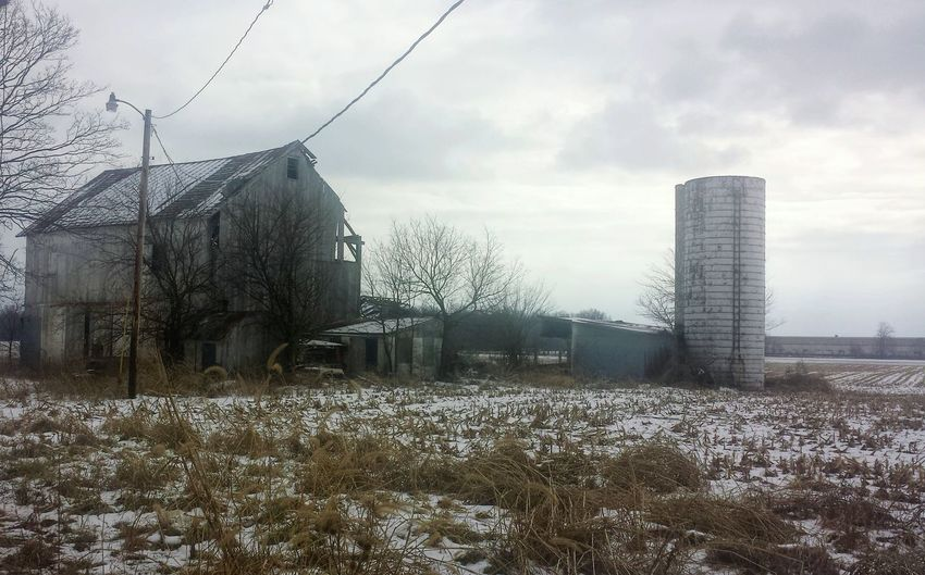 It's Cold Outside Ohio 614 Snow Snowy Frozen Rural Rurex Rural Exploration Abandoned Abandoned House Farm Barn Groveport