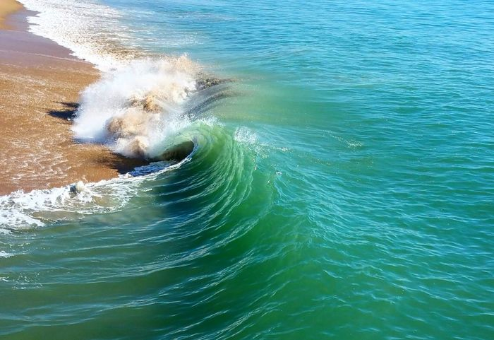 Beach Beachphotography Beauty In Nature Crashing Crashing Waves  Day Dramatic Waves Meditation Minimalism Nature No People Ocean Outdoors Power Sea Spiral Spiral Wave Strong Swirl Water Waterfront Wave Whitecap Zen Breathing Space Lost In The Landscape Done That.