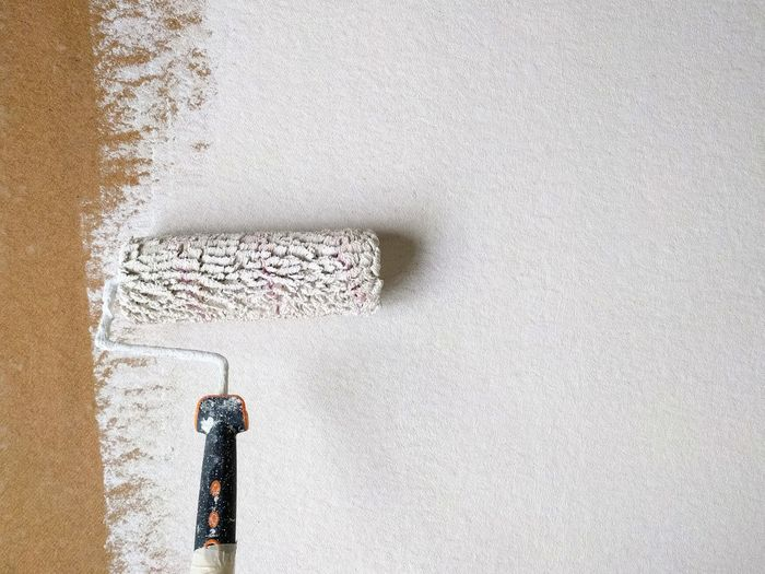 Textured  Close-up Indoors  Architecture Painting Paint Job White White Background Copy Space