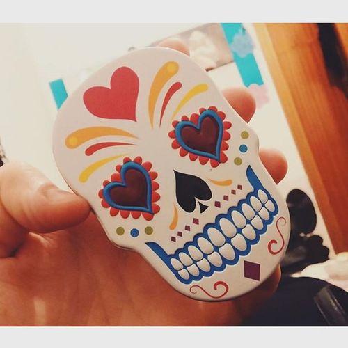 Cajitas guays que encuentras en el rastro Madrid Rastro Skull Sugarskulls 💀😍