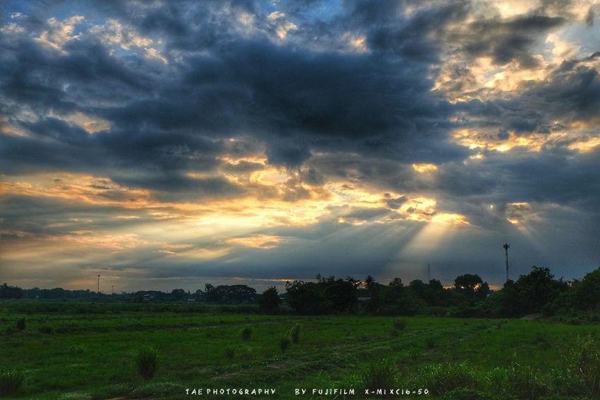 Sky ☁☀☁ Nature EyeEm Best Shots Open Edit Taking Photos Relaxing Enjoying Life Walking Around Fujifilm X-m1 Sky Sunset