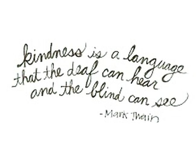 Speaking of truth...be kind.. Just Saying Truth Be Kind Acts Of Kindness
