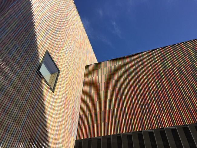 Munich, Germany Architecture Building Exterior Built Structure Day Low Angle View Modern Museum Brandhorst No People Outdoors Sky