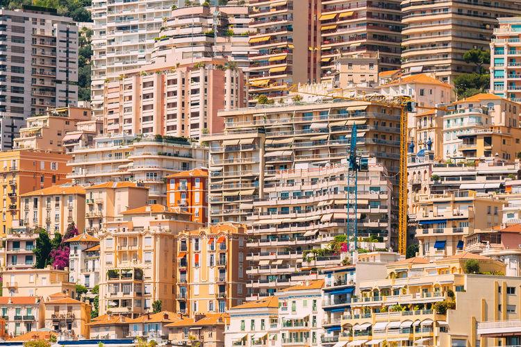 Full frame shot of residential district