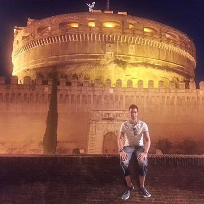 In Rome at Castel Sant'Angelo Rome Italy Castelsantangelo Wheninrome Assassinscreed Ezio