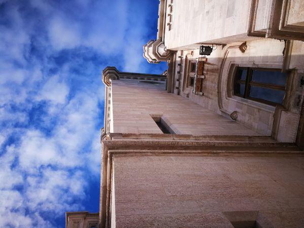 Built Structure Sky Cloud - Sky Architecture Building Exterior Day Outdoors No People Blue City Marimar
