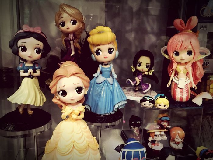 Princess Qpocket Cinderella Snowwhite Bella Rapunzel Shirahoshi OnePiece
