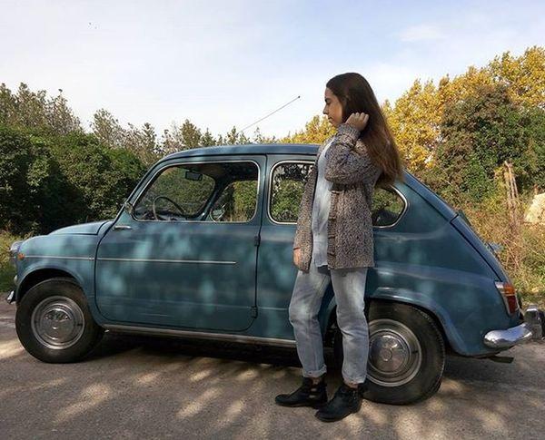 My fav car 😍 / Ya teneis nuevos looks en mi usuario de @beinapp Fashionblogger Fashionblog Linkinbio Whatiwore