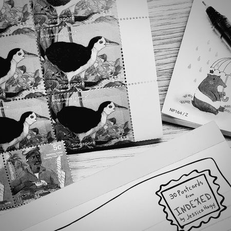 Postcards Stamps Snail Mail Blackandwhite Blackandwhite Photography Black And White Collection  EyeEm BlackandWhite