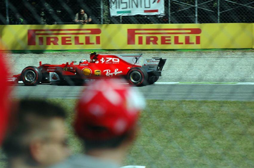 Kimi Scuderia Ferrari Ferrari F1 Formula 1 KimiRäikkönen Text Fire Engine Day