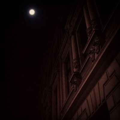 beautiful night. #moonlight #beautiful #night #old #building #dtown #city #lights Night Lights Old City Beautiful Building Moonlight Dtown