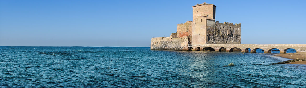 Torre Astura Sea And Sky Architecture Building Exterior Horizon Over Water Built Structure Travel Destinations Your Ticket To Europe