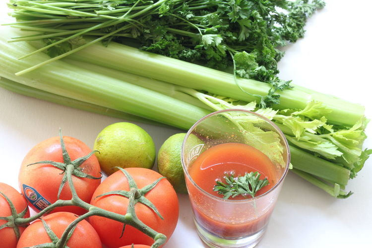 Close-Up Of Vegetables