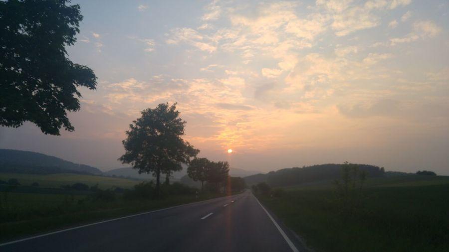 Sun Sonnenuntergang Freiebahn Andthesungoesdown Freden