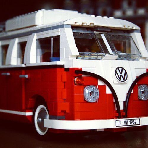 Furgoncino volkswagen LEGO Grugliasco Leserre Volkswagen