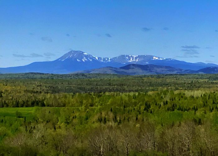 Mt. Katahdin. Mountain Mt. Katahdin Mount Katahdin Landscape Mountain Range No People Scenics Outdoors Tree Sky Horizontal Mountain Betterlandscapes