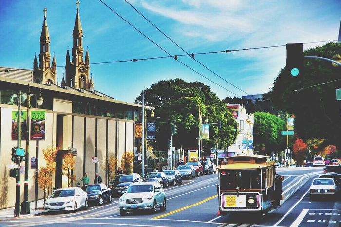 Sanfrancisco Cable Car Streetphotography Iponeography