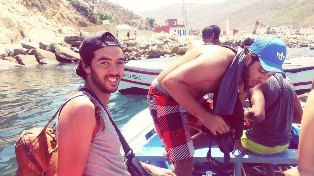 Jebha Jebha Lhociema Moroccoroadtrip MoroccoTrip Morocco_travel Smile❤ Enjoying Life Travel Crazy Moments Travel Destinations Outdoors Relaxation Trip With Friends