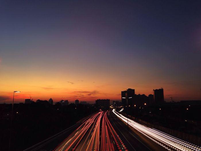 Waking Hours. Sunrise Light And Shadow IPSLight
