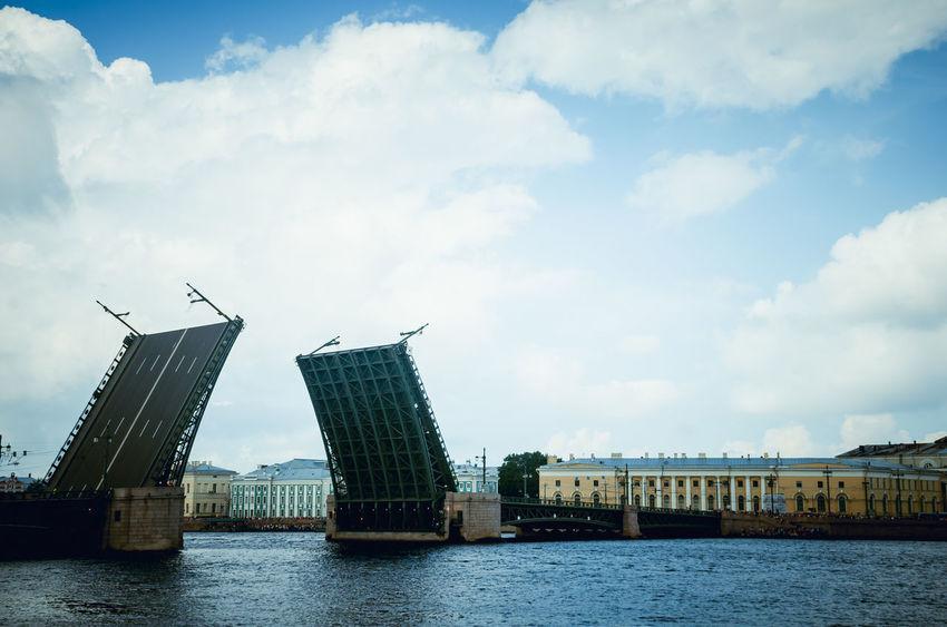 Sankt-peterburg Sankt-Petersburg Sanktpeterburg Sanktpetersburg Piter  VMF Bridge Bridges Russia