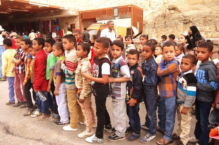 RePicture Travel Egyptian Children
