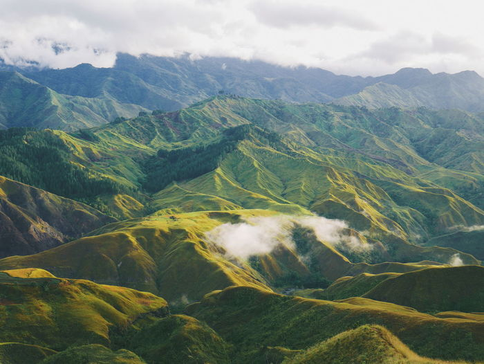 One of the most beautiful scenery i've seen so far - panimahawa ridge located at bukidnon, philippin