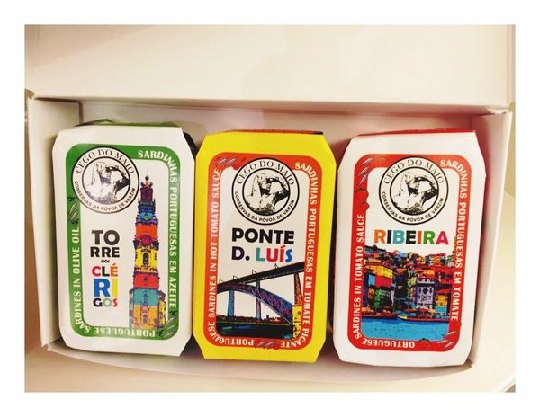 Packaging Sardines Sardinhas Minimalism Gooddesign Colours Three Portugal Portuguese Design