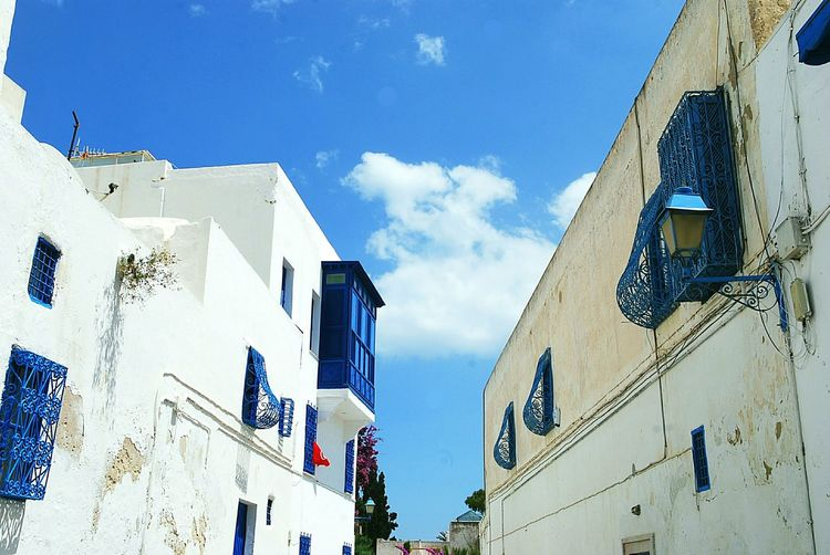 Exploring Style Architecture_collection Light And Shadow Sidi Bou Said Tunisia