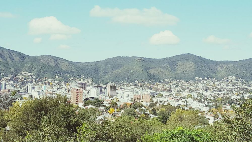 Mountain Cityscape Cityview🌇 Day Nature Sky Sunny☀ Cordoba-argentina