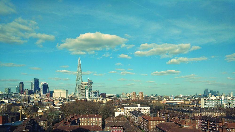 London Skyline Sunny