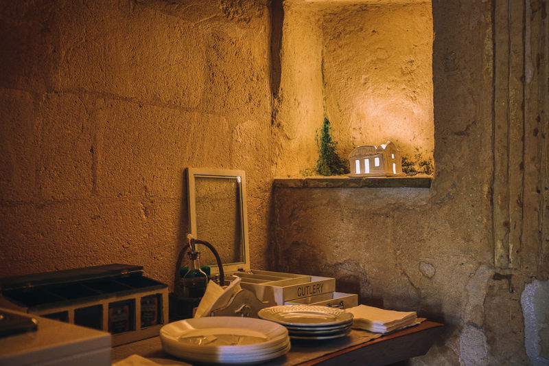 Matera 2018 Indoors  Household Equipment Wall - Building Feature Sink No People Container Domestic Room Home Home Interior Shelf Faucet Domestic Kitchen Kitchen Architecture Abandoned Old Built Structure Bathroom Jar Building Messy