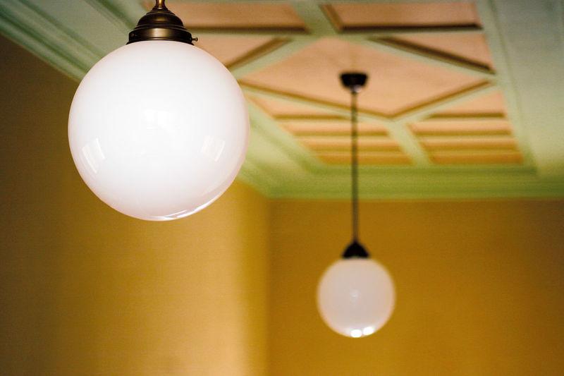 Art Nouveau Ceiling Close-up Hanging Illuminated Indoors  Interior Design Jugendstil Lamp Light Bulb Lighting Equipment Moulding No People Stucco The Graphic City