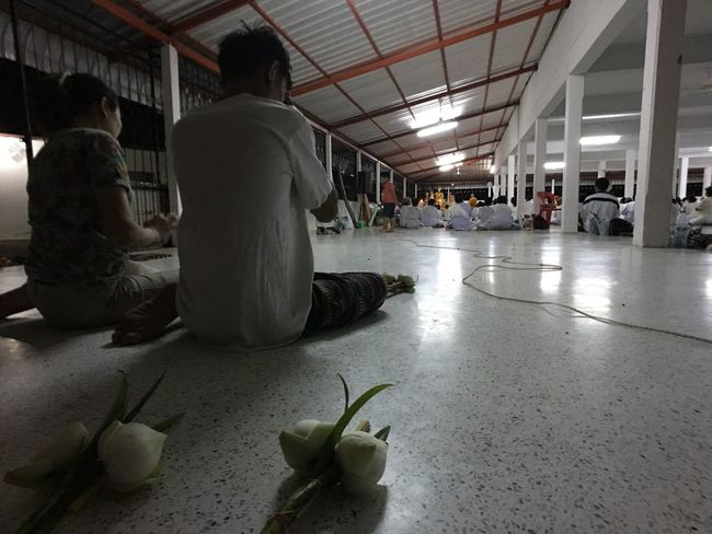 Indoors  Real People Women Men Lifestyles Day People Adult Adults Only Praying Thailand Temple