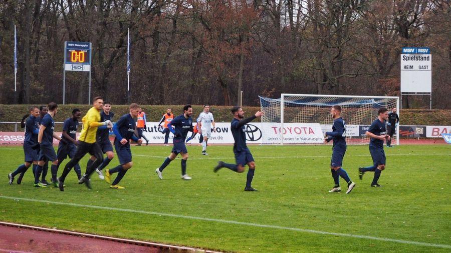 Bernau Brandenburg Fussball Ist Unser Leben Fussball Neuruppin Outdoors Stadion Verbandsliga Volksparkstadion