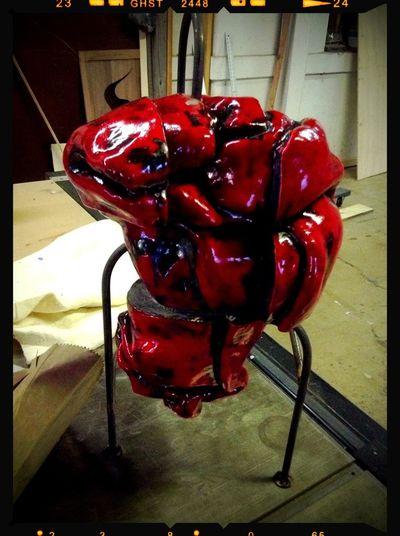 Sculpture Heartbeat Moments Heart
