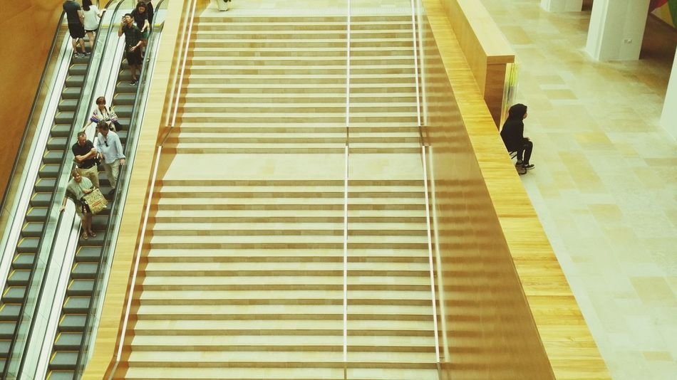 Old Stairs National Gallery Singapore Arts Elegance And Class Culture Benches Empty Places Stair