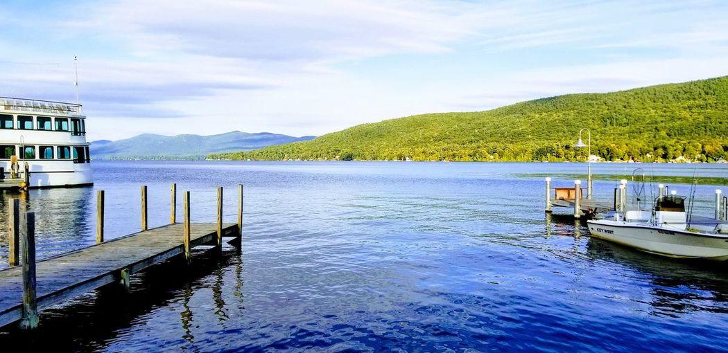 beautiful Lake George 2018 Lake Veiw Lake Best Travel Photo Water Nautical Vessel Tree Lake Flood Mountain Reflection Sky Landscape Cloud - Sky