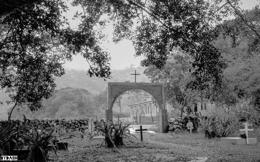 Watch closely and discover details... This is a pic of a graveyard in the small town Elremate Colima Mexico Colima Blackandwhite Artistic Arquitecture Nostalgia