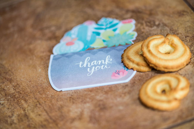Cookies and a thank you card on a counter Cookies Cookies🍪 Food And Drink Holiday Holidays Thank You Thank You Note Close-up Day Food Food And Drink Freshness High Angle View Indoors  Love No People Pen Seasonal Selective Focus Special Occasion Stationary Still Life Sweet Food Text Thank You Card